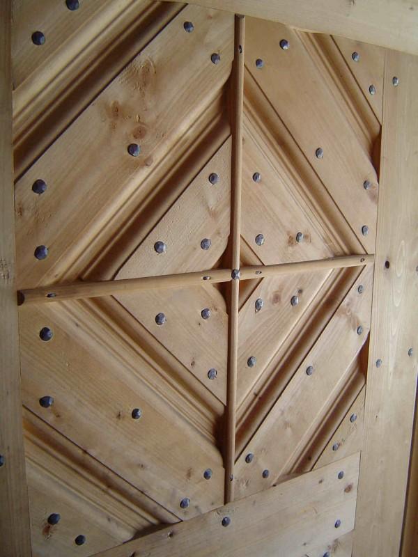 Tür Schmiedewerkstatt Detail